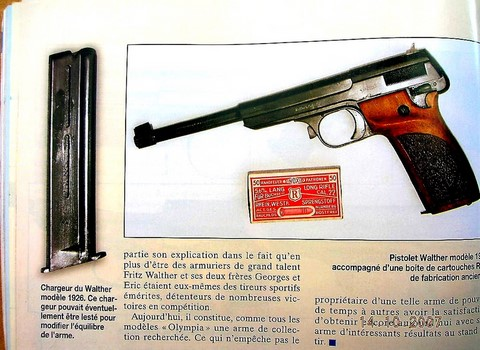 WALTHER Olympia 1926.P.A. Comp